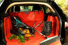 Verlängerung der Kofferraumauskleidung